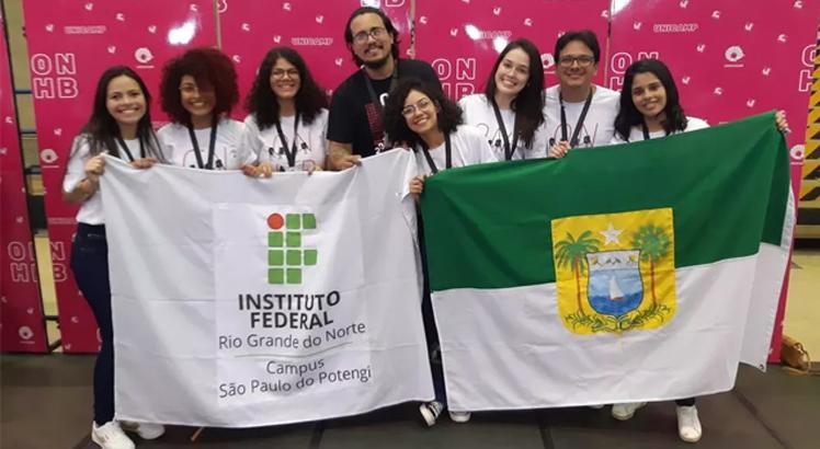 Rio Grande do Norte liderou o quadro geral de medalhas. Foto: Divulgação/IFRN