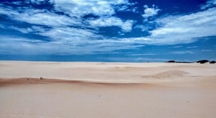 Dunas douradas de Genipabu, em Natal, Rio Grande do Norte. Foto: Rafael Santos/SBT Nordeste