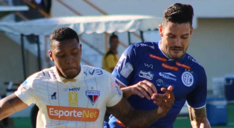 Confiança vence Fortaleza pela Copa do Nordeste