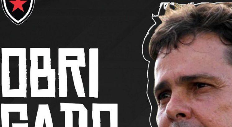 Evaristo Piza Botafogo-PB Demissão