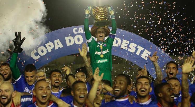 Fortaleza comemora 1 ano do título da Copa do Nordeste