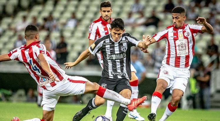 Náutico venceu o Ceará por 2 a 0