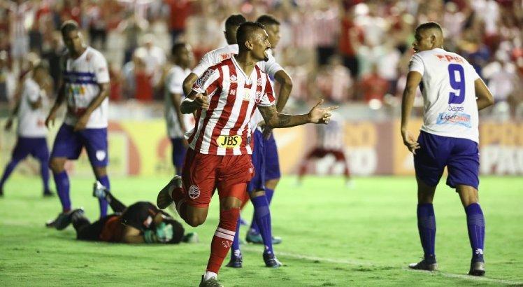 Copa do Nordeste no SBT Náutico Timbu Kieza