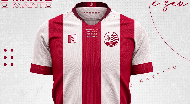 Copa do Nordeste no SBT Náutico Camisas
