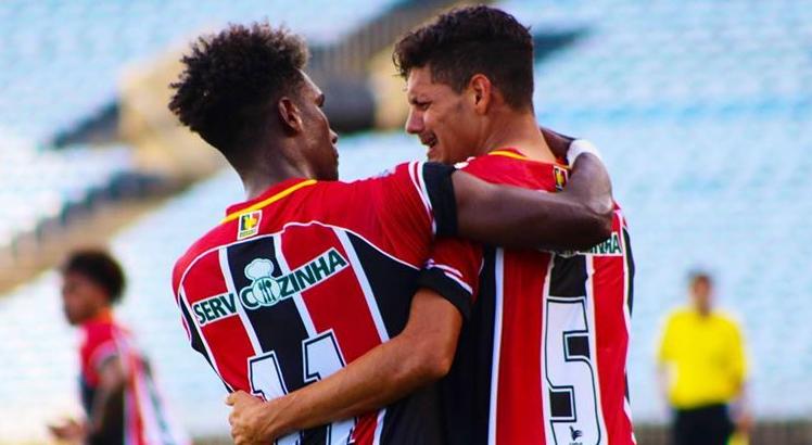 Copa do Nordeste no SBT River-PI pandemia jogadores sete biro biro