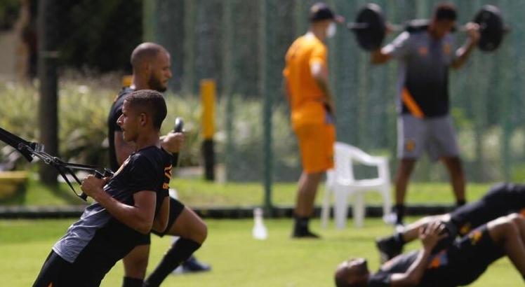 Copa do Nordeste no SBT Sport Treinamentos covid-19